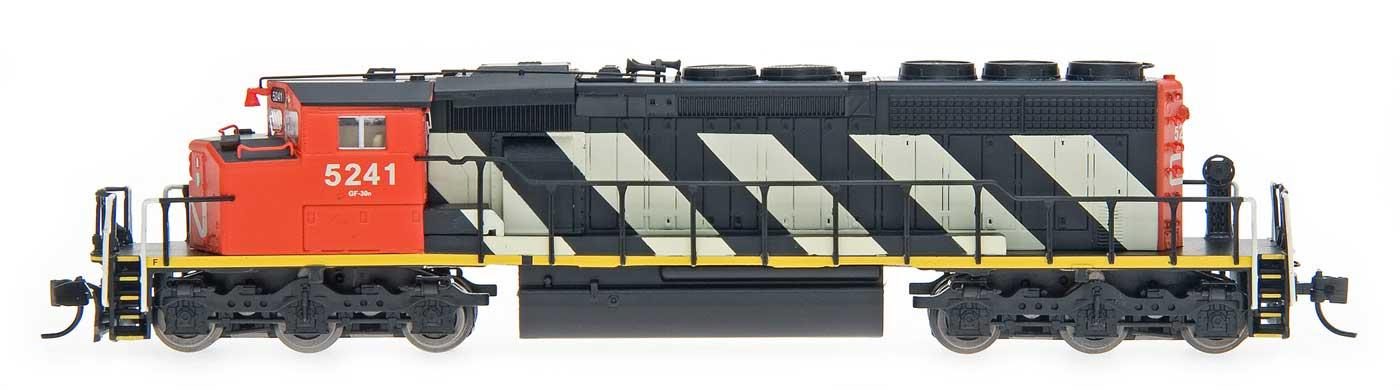 N Scale - InterMountain - 69301-12 - Locomotive, Diesel, EMD SD40-2 - Canadian National - 5261