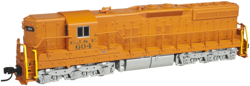 N Scale - Atlas - 40 001 834 - Locomotive, Diesel, EMD SD9 - Elgin Joliet & Eastern - 601