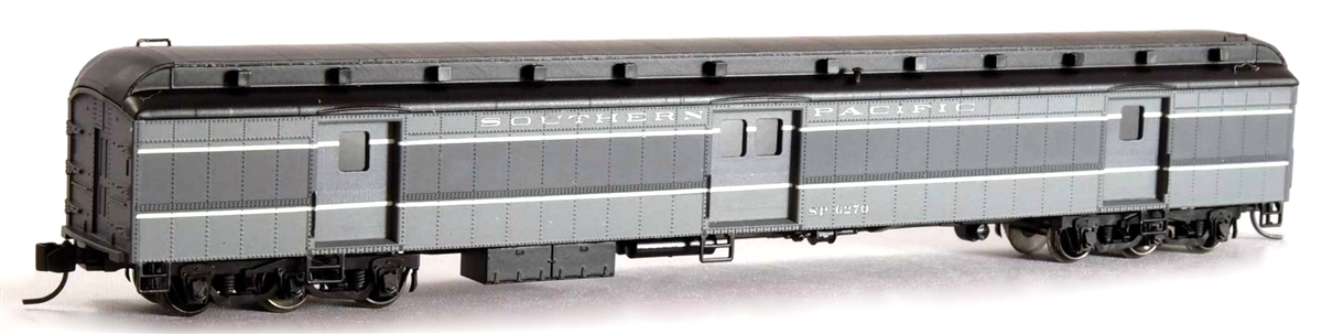 N Scale - Wheels of Time - 1007 - Passenger Car, Heavyweight, Baggage-Horse - Southern Pacific - 6270
