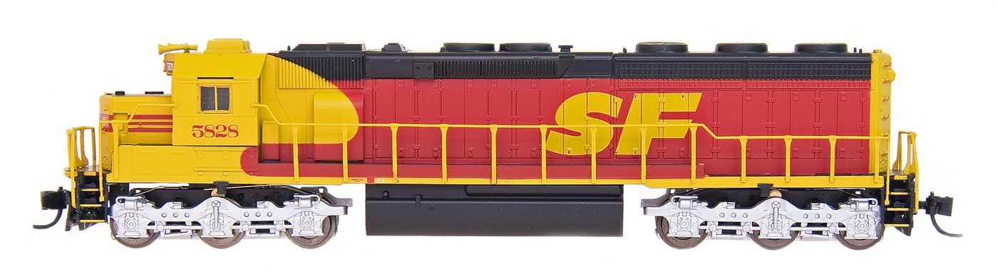 N Scale - InterMountain - 69568-05 - Engine, Diesel, SD45-2 - Santa Fe - 5821
