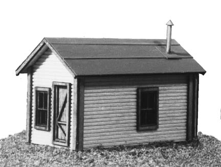 N Scale - American Model Builders - 603 - Cabin - Undecorated