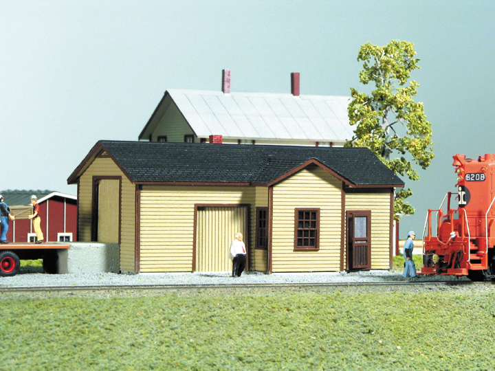 N Scale - American Model Builders - 618 - Passenger Station - Railway Station