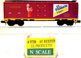 N Scale - Model Power - 3728 - Reefer, 40 Foot, Steel - El Producto