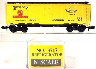 N Scale - Model Power - 3717 - Reefer, 40 Foot, Steel - Atlantic & Pacific - 23089
