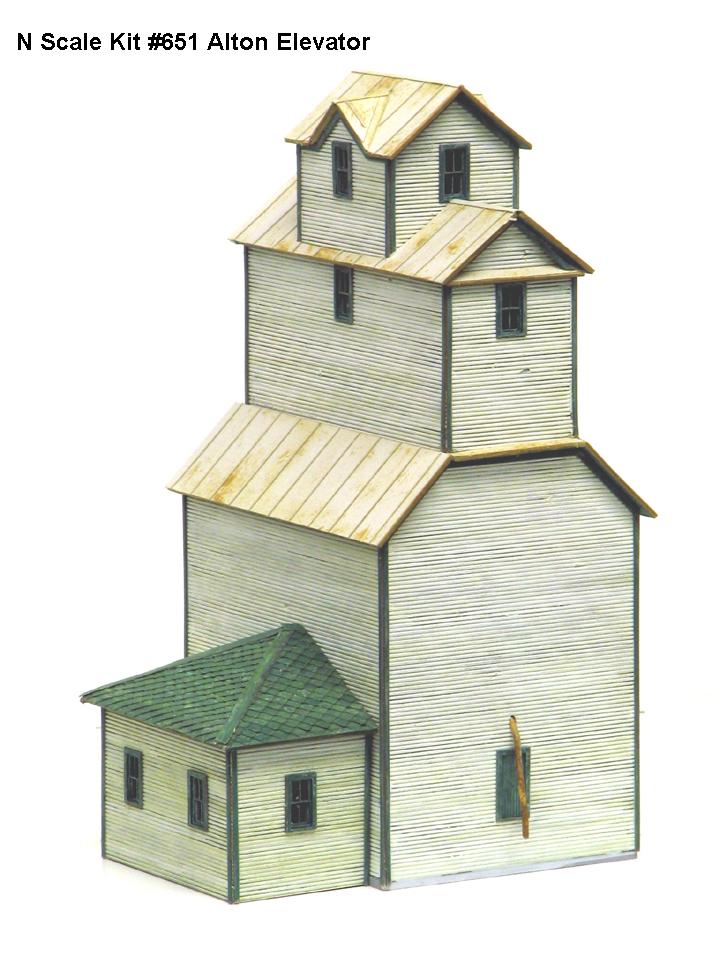 N Scale - American Model Builders - 651 - Various - Undecorated