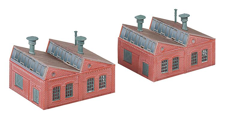 N Scale - Faller - 222203 - Factory Building - Industrial Structures