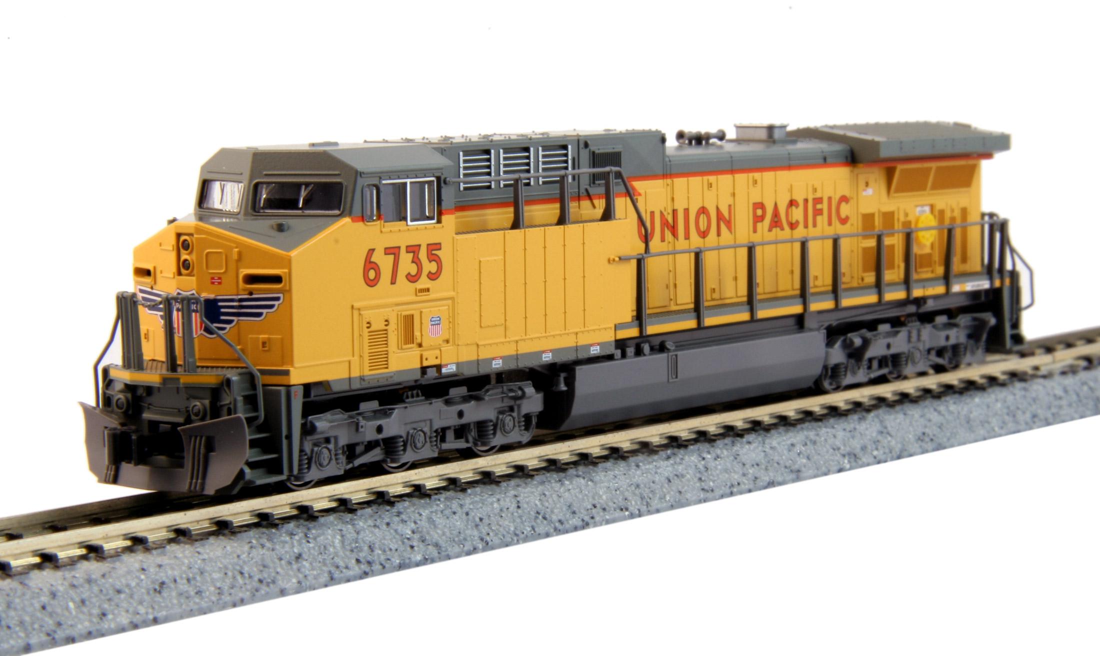 N Scale - Kato USA - 176-7037 - Locomotive, Diesel, GE AC4400CW - Union Pacific - 6717