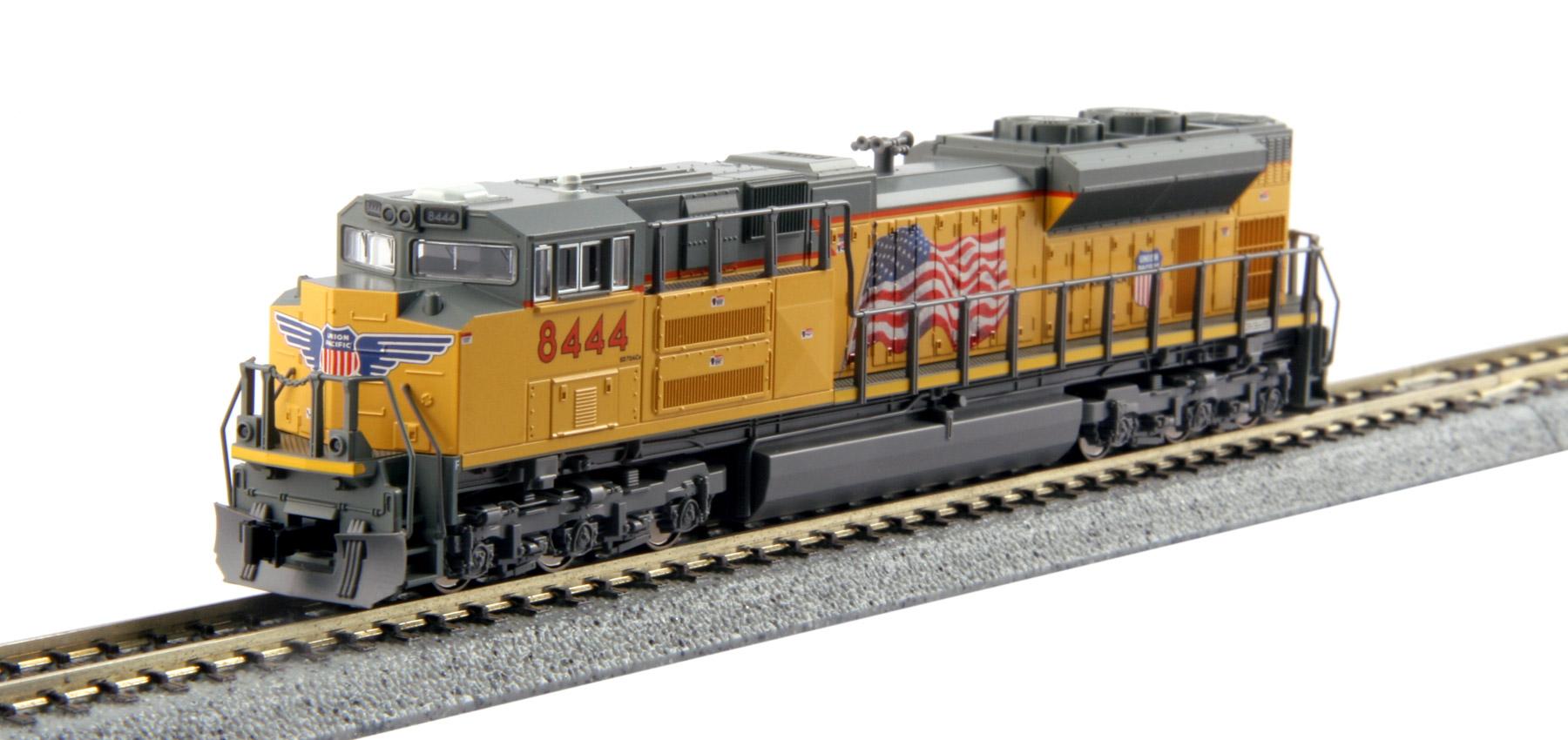 N Scale - Kato USA - 176-8401 - Locomotive, Diesel, EMD SD70 - Union Pacific - 8424