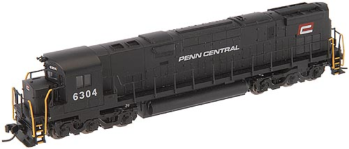 N Scale - Atlas - 54070 - Locomotive, Diesel, Alco C-628 - Penn Central - 6304