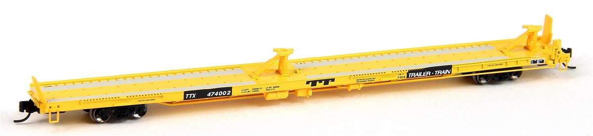 N Scale - Trainworx - 28545-24 - Flatcar, 85 Foot, TOFC - Trailer Train - 479580
