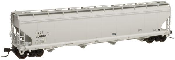N Scale - Atlas - 50 000 490 - Covered Hopper, 4-Bay, ACF Centerflow - Union Tank Car - 57641
