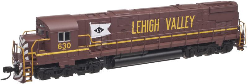N Scale - Atlas - 40 001 969 - Locomotive, Diesel, Alco C-628 - Lehigh Valley - 627