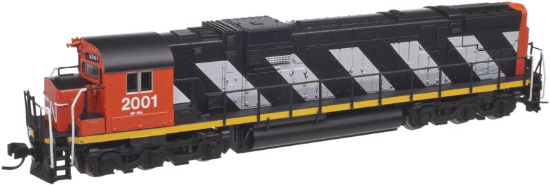 N Scale - Atlas - 40 002 013 - Locomotive, Diesel, Alco C-630 - Canadian National - 2009