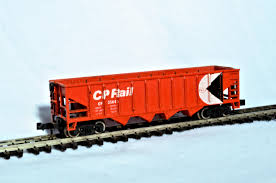 N Scale - JC Timmer - 4012 - Open Hopper, 4-Bay Steel - Canadian Pacific - 35644