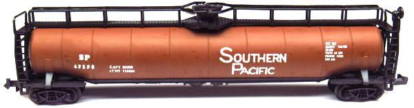 N Scale - Aurora Postage Stamp - 4870-280 - Tank Car, 33K, LPG - Southern Pacific - 67270