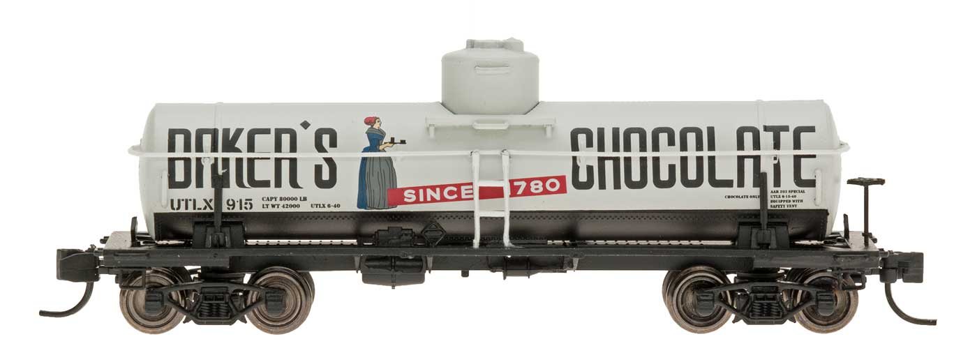 N Scale - InterMountain - 66337-01 - Tank Car, Single Dome, ACF 8,000 Gallon - Baker