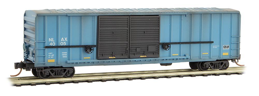 N Scale - Micro-Trains - 030 00 300 - Boxcar, 50 Foot, Steel - NASA - 4005