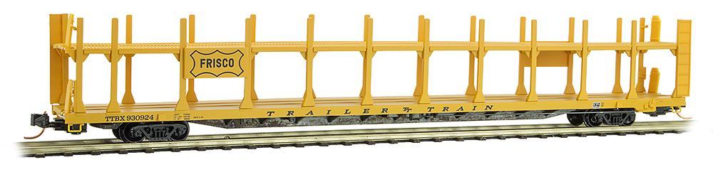 N Scale - Micro-Trains - 112 00 540 - Autorack, Open, F89F Tri-Level - Frisco - 930924