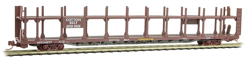 N Scale - Micro-Trains - 112 00 550 - Autorack, Open, F89F Tri-Level - Frisco - 84577