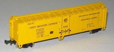 N Scale - Atlas - 3241 - Reefer, 50 Foot, Mechanical - Fruit Growers Express - 10099