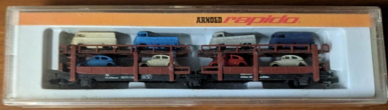 N Scale - Arnold - 0499 - Trains - Deutsche Bundesbahn - 635