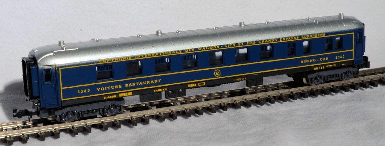N Scale - Lima - 303 - Passenger Car, CIWL, Pullman - Compagnie Internationale des Wagons-Lits - 3360
