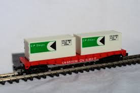 N Scale - Model Power - 4001 - Flatcar, 45 Foot, Fishbelly - Canadian National - 657036