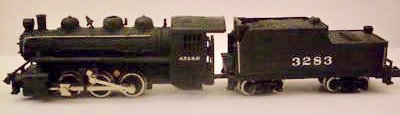 N Scale - Bachmann - 4802 - Locomotive, Steam, 0-6-0 USRA - Santa Fe - 3283