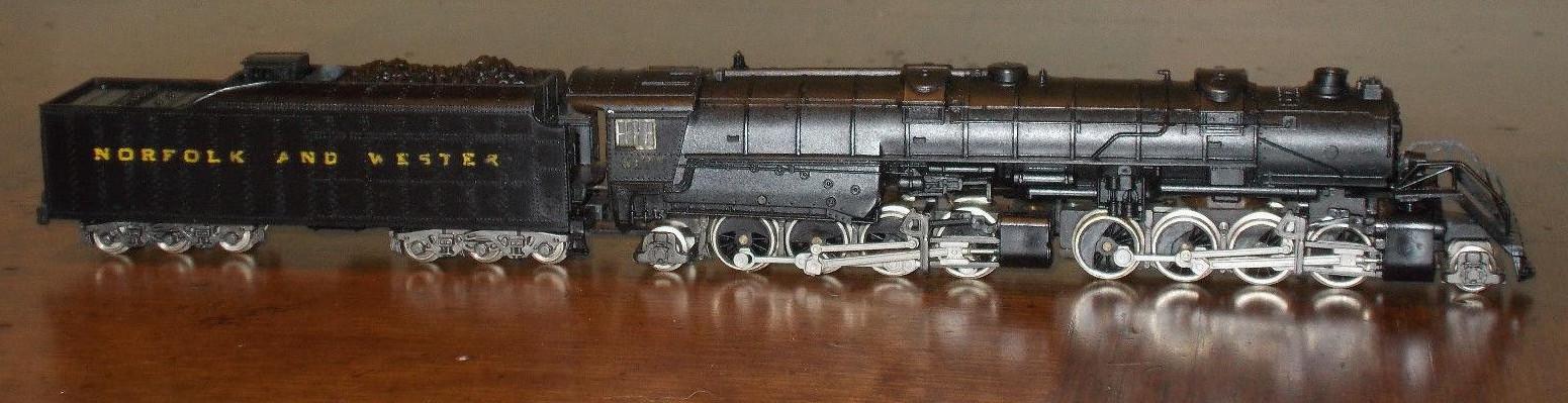 N Scale - Arnold - 2883 - Locomotive, Steam, 2-8-8-2 USRA - Norfolk & Western - 2172