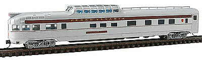 N Scale - Con-Cor - 0001-425103(2) - Passenger Car, Streamlined, 85 Foot Dome Observation - Pennsylvania - 1186