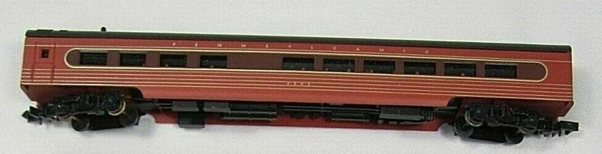 N Scale - Con-Cor - 0001-428103(2) - Passenger Car, BUDD Corrugated Side, Dining Car - Pennsylvania - 4502