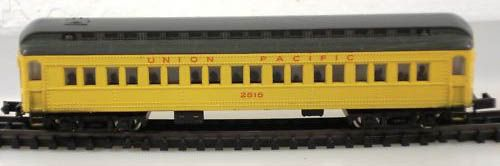 N Scale - Bachmann - 13052 - Passenger Car, Heavyweight - Union Pacific - 1086