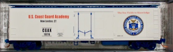 N Scale - Micro-Trains - NSC MTL 07-01 - Reefer, 50 Foot, Mechanical - United States Coast Guard - 1876