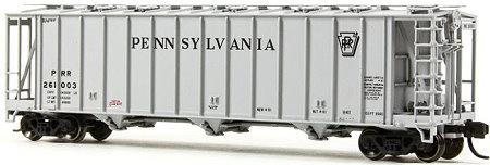 N Scale - BLMA - 16010 - Covered Hopper, 3-Bay, GATX 3500 Dry-Flo - Pennsylvania - 261003