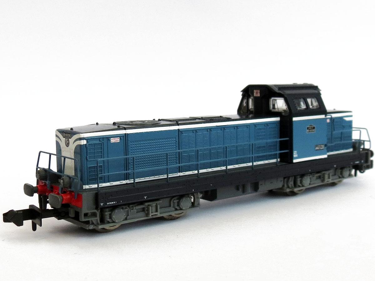 N Scale - Piko - 94100D - Locomotive, Diesel, SNCF BB 66000 - SNCF - 040 DG 58