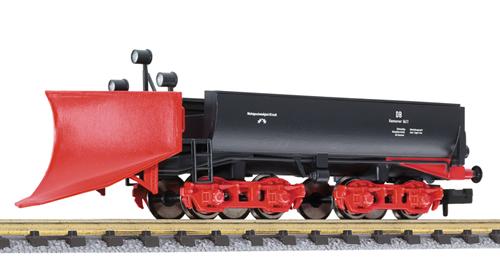 N Scale - Liliput - L260901 - MOW, Snow Plow - Deutsche Bahn - 6411