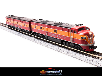N Scale - Broadway Limited - 3035 - Locomotive, Diesel, EMD E7 - Southern Pacific - 6002A/5902B
