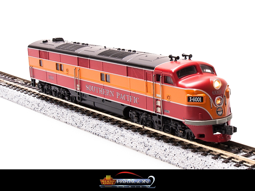 N Scale - Broadway Limited - 3043 - Locomotive, Diesel, EMD E7 - Southern Pacific - 6001