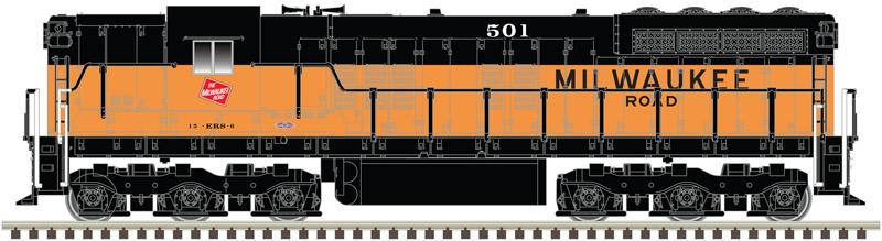 N Scale - Atlas - 40 003 666 - Locomotive, Diesel, EMD SD7 - Milwaukee Road - 501