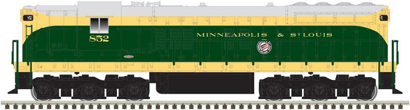 N Scale - Atlas - 40 003 683 - Locomotive, Diesel, EMD SD7 - Milwaukee & St. Louis - 852