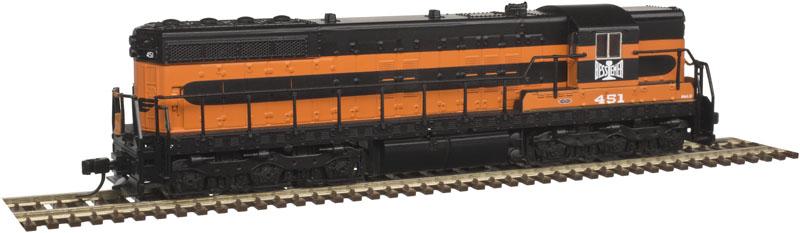 N Scale - Atlas - 40 003 679 - Locomotive, Diesel, EMD SD7 - Bessemer & Lake Erie - 451