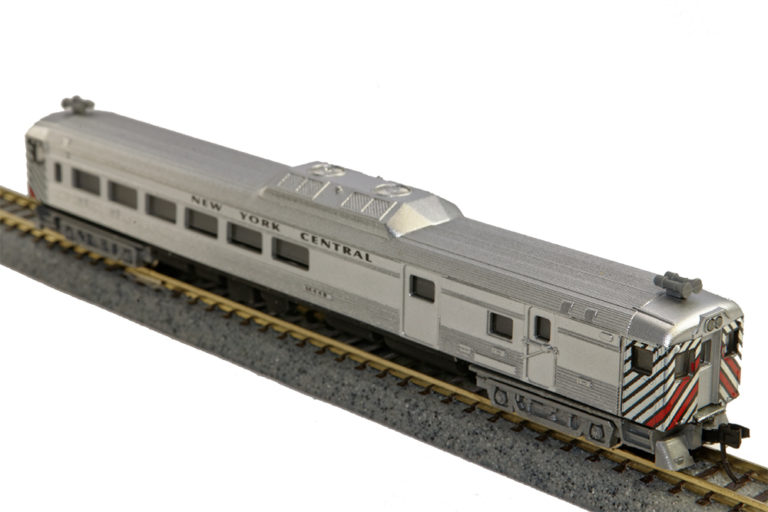 N Scale - Con-Cor - 0001-004444 - Railcar, Diesel, Budd RDC - New York Central
