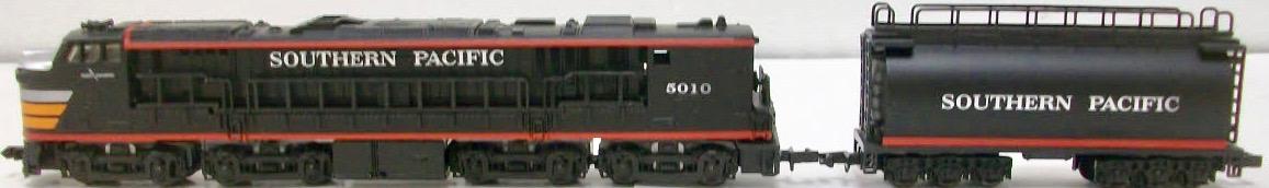N Scale - Con-Cor - 0001-332104 - Locomotive, GE, Gas Turbine Electric - Southern Pacific - 5010
