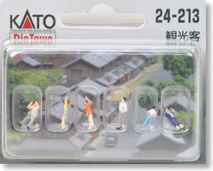 N Scale - Kato - 24-213 - Japanese People - People