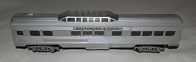 N Scale - Arnold - 0353B - Passenger Car, Lightweight, Corrugated - Baltimore & Ohio - 353