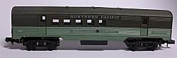 N Scale - Arnold - 0358N - Passenger Car, Lightweight, Corrugated - Northern Pacific - 358