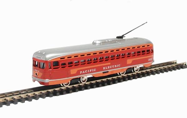 N Scale - Bachmann - 51-0629-C3 - Streetcar, Electric, PCC Trolley - Pacific Electric - 5612
