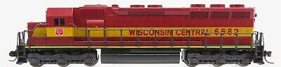 N Scale - Kato USA - 176-31D - Locomotive, Diesel, EMD SD45 - Wisconsin Central - 6582