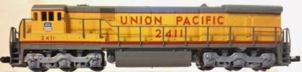 N Scale - Kato USA - 176-30B - Engine, Diesel, C30-7 - Union Pacific - 2411