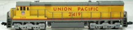 N Scale - Kato USA - 176-30C - Engine, Diesel, C30-7 - Union Pacific - 2419